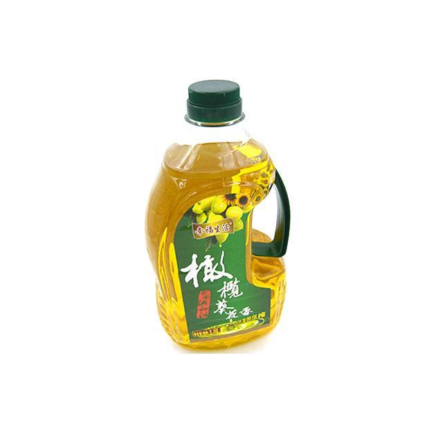 幸福生活橄榄葵花油 1.8L